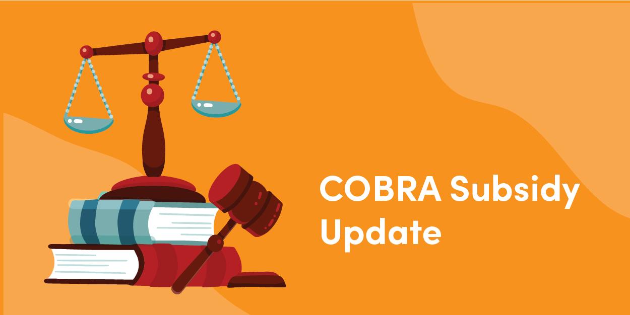 COBRA Subsidy Update